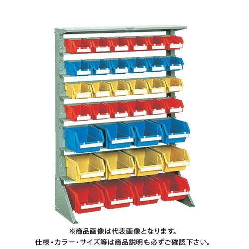 【個別送料1000円】【直送品】 TRUSCO 重量コンテナラック H1265 T2X24 T5X12 U-1234