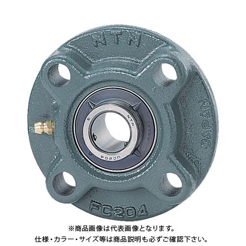 NTN 軸受ユニット(円筒穴形、止めねじ式)軸径80mm全長240mm全高240mm UCFC216D1