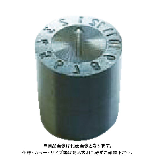 浦谷 金型デートマーク0M型 外径6mm UL-OM-6