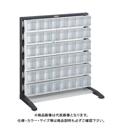 【個別送料1000円】【直送品】 TRUSCO UPRラック片面 H1000 ポケットケース付 UPR-L1006E