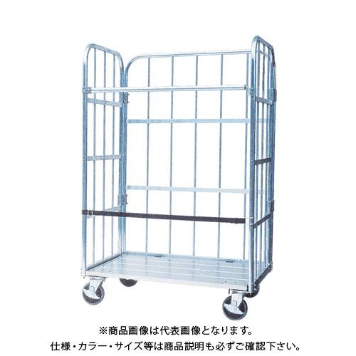 【直送品】ナカオ アルミ製台車「運ぱん君」 UK-2