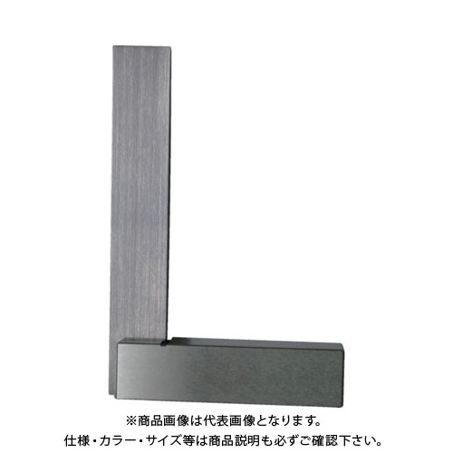 【運賃見積り】【直送品】ユニ 焼入台付スコヤー(JIS1級) 400mm ULAY-400