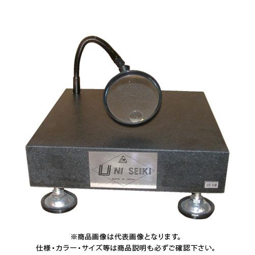 【運賃見積り】【直送品】ユニ 石定盤スタンド ルーペ付 UR3030