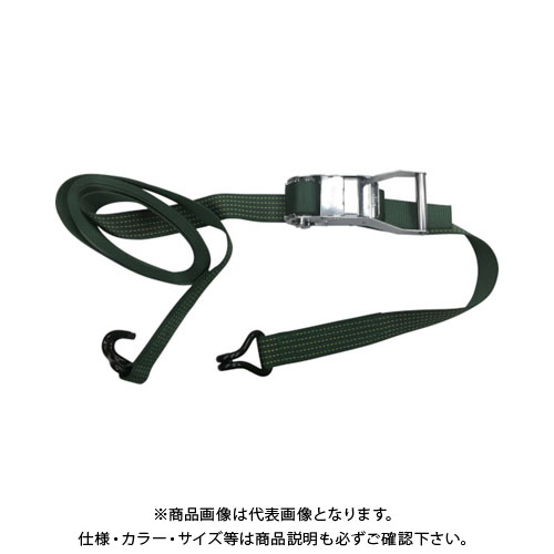 ユタカ ベルト荷締機コブラ 50mm×5m×1m Jフック V50-JD