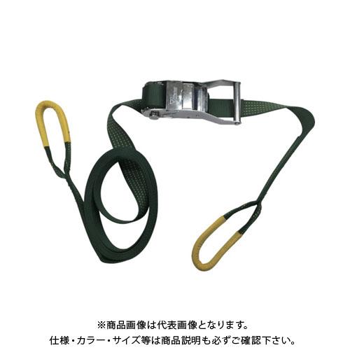 ユタカ ベルト荷締機コブラ 50mm×5m×1m シボリ縫製 V50-RD
