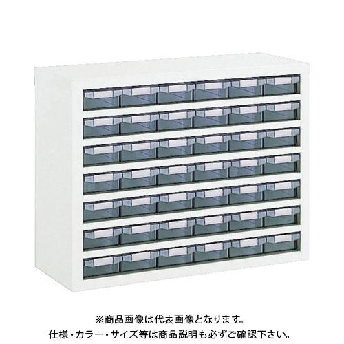 【個別送料1000円】【直送品】 TRUSCO 引出しユニット 795X307XH605 A1X42 W VA-67BN