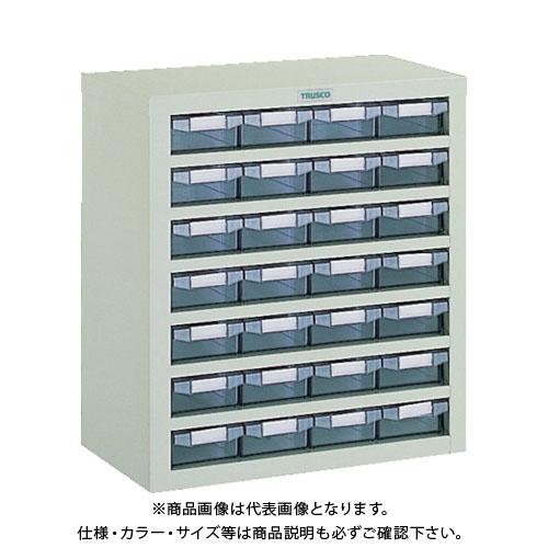 【個別送料1000円】【直送品】 TRUSCO 引き出しユニット 553X307XH605 A1X28 VA-47B