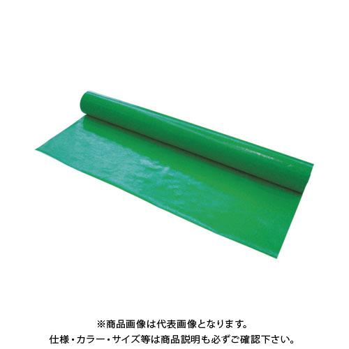 【直送品】萩原 #4000 ターピーUVクロス グリーン 3.6x100m UVCGR36100