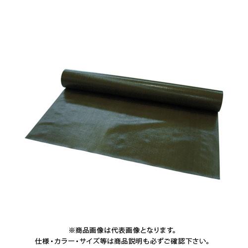 【直送品】萩原 #5000 ターピーUVクロス ODグリーン 3.6x100m UVCOD36100