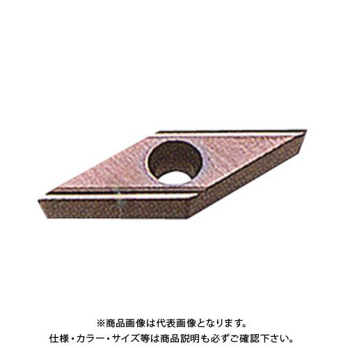 三菱 P級サーメット旋削チップ CMT 10個 VBET110301L-SN:NX2525