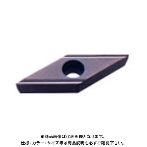 三菱 PVDコート旋削チップ COAT 10個 VBET1103V3R-SN:VP15TF
