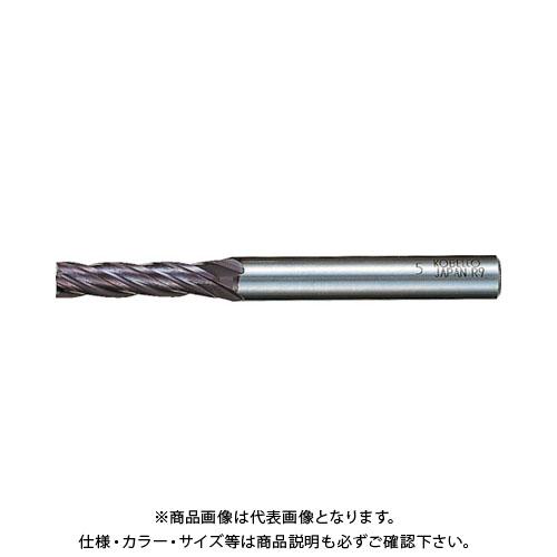 三菱K 超硬ミラクルエンドミル4.5mm VC4JCD0450