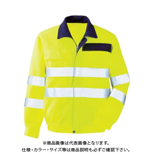 ミドリ安全 高視認 ブルゾン イエロー S VE 324-UE-S