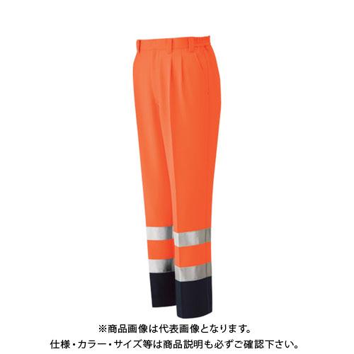 ミドリ安全 高視認 イージーフレックスパンツ オレンジ M VE 325-SITA-M