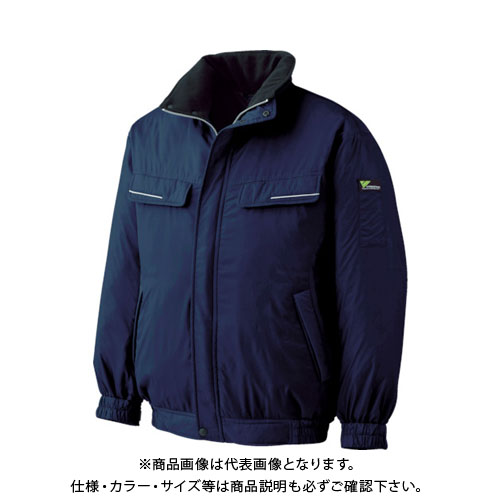 ミドリ安全 ベルデクセル 防寒ブルゾン ネイビー 3L VE1027-UE-3L