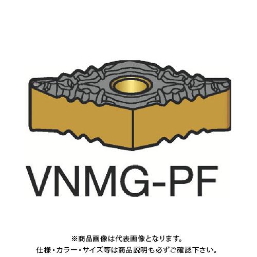 サンドビック T-Max P 旋削用ネガ・チップ 1525 COAT 10個 VNMG 16 04 08-PF:1525