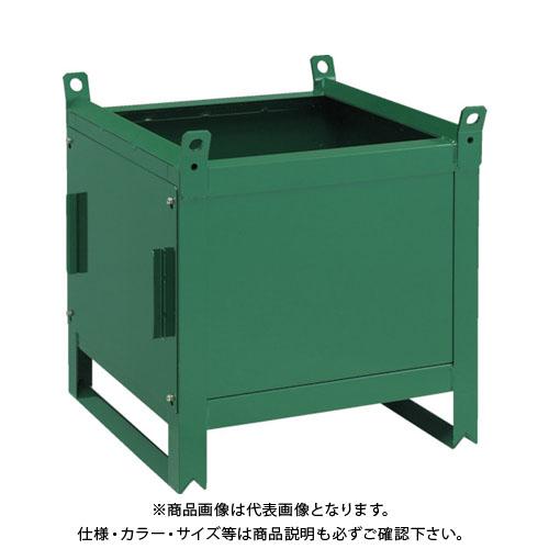 【直送品】TRUSCO ミニカーゴ 前扉型 600X600XH600 VJ-605