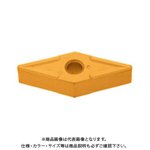 タンガロイ 旋削用M級ネガTACチップ COAT 10個 VNMG160412:T9015
