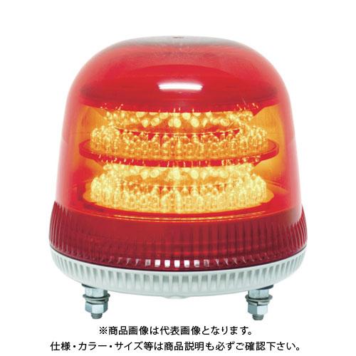 NIKKEI ニコモア VL17R型 LED回転灯 170パイ 赤 VL17M-100APR