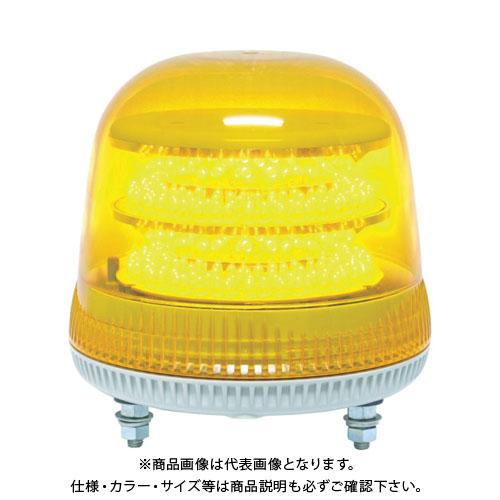 NIKKEI ニコモア VL17R型 LED回転灯 170パイ 黄 VL17M-100APY