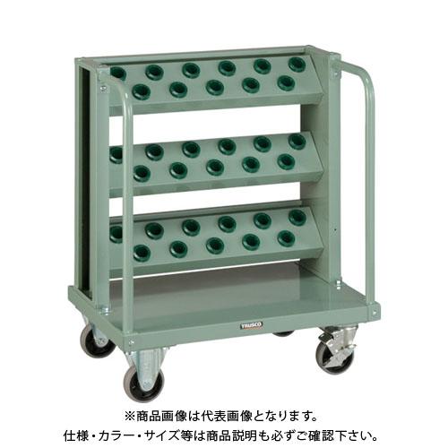 【運賃見積り】【直送品】 TRUSCO ツーリングワゴン BT・NT30兼用 3段 33個収納 ロック付 VTLW-311