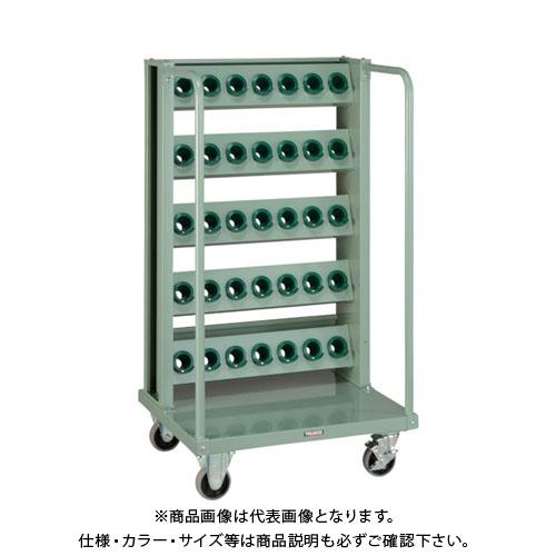 【運賃見積り】【直送品】 TRUSCO ツーリングワゴン BT・NT40兼用 5段 35個収納 ロック付 VTLW-57