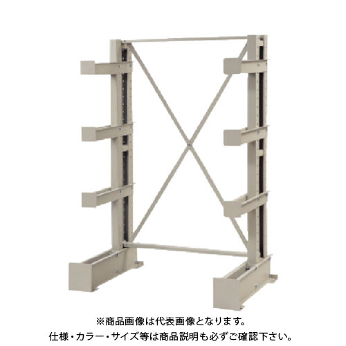 【運賃見積り】【直送品】 TRUSCO 長尺保管棚 5段 ミニ 基本 ネオグレー VR-915-1R:NG