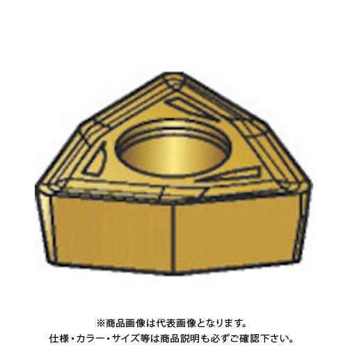 サンドビック コロマントUドリル用チップ 1020 COAT 10個 WCMX 05 03 04R-WM:1020