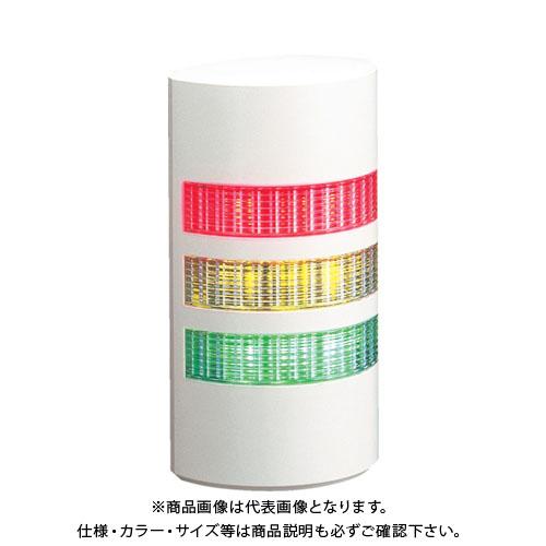 パトライト ウォールマウント薄型LED壁面 WEP-302-RYG