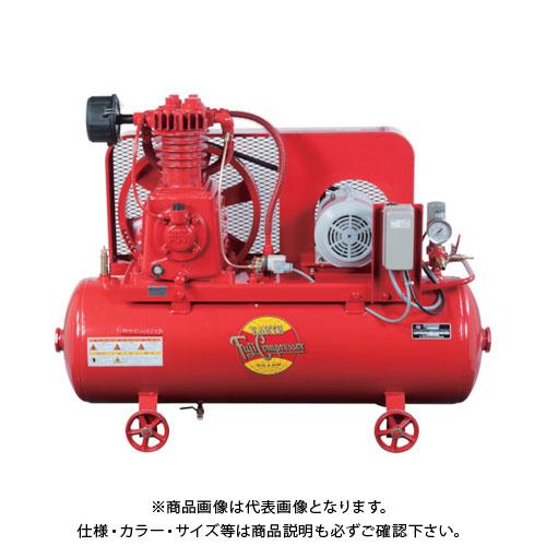 【直送品】富士 汎用空冷二段圧縮コンプレッサ 60Hz W-32PMT-6