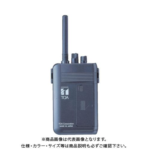 【マラソン期間中エントリーでポイント最大47倍!】【運賃見積り】【直送品】 TOA 携帯型送信機(ツーピース型) WM-1100