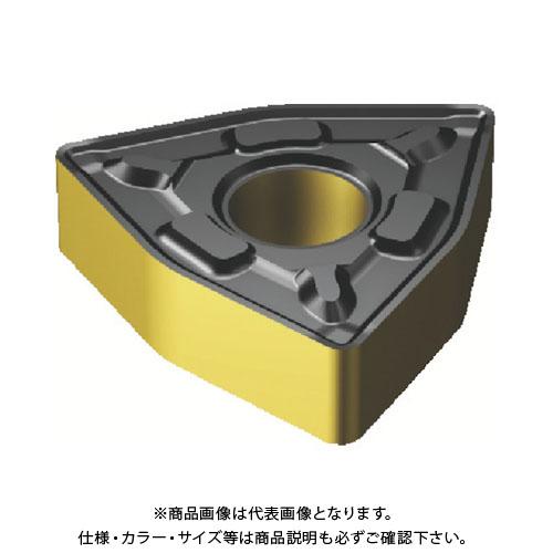 サンドビック T-Max P 旋削用ネガ・チップ COAT 10個 WNMG 08 04 12-PR:4325