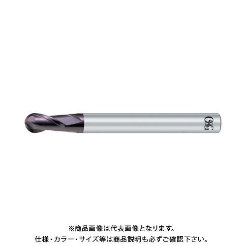 OSG 超硬エンドミル WX 2刃ボール R5 3015100 WX-EBD-R5