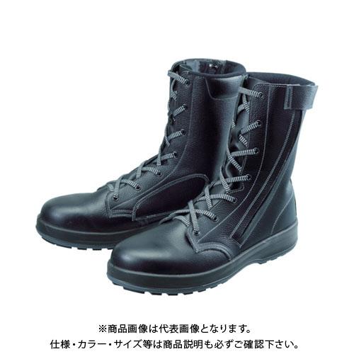 シモン 安全靴 長編上靴 WS33黒C付 27.5cm WS33C-27.5