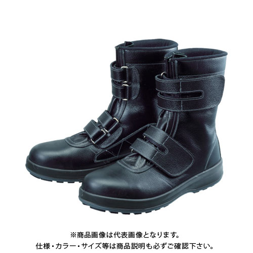 シモン 安全靴 長編上靴 マジック WS38黒 28.0cm WS38-28.0
