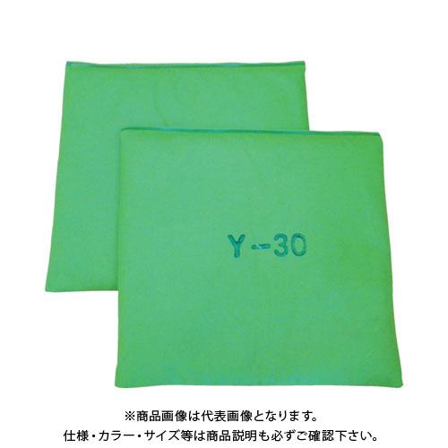 【運賃見積り】【直送品】JOHNAN 油吸収材 アブラトール マット 30×30×2cm グリーン Y-30G