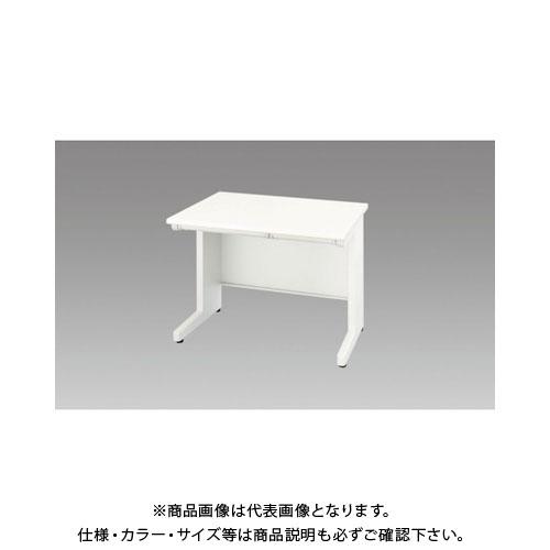 【運賃見積り】【直送品】 ナイキ 平デスク 間口1000×高さ700mm ホワイト XED107F-WH