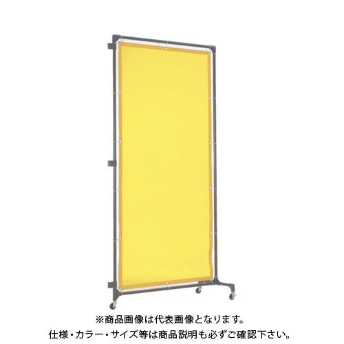 【個別送料1000円】【直送品】 TRUSCO 溶接遮光フェンス 1020型接続 黄 YFBS-Y