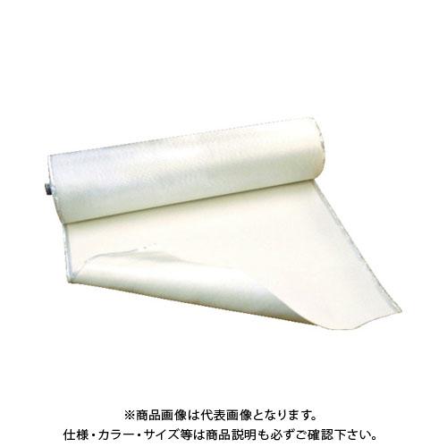 【直送品】吉野 耐火クロス 片面2回コーティングタイプ 1m×25m YS-TC-SS