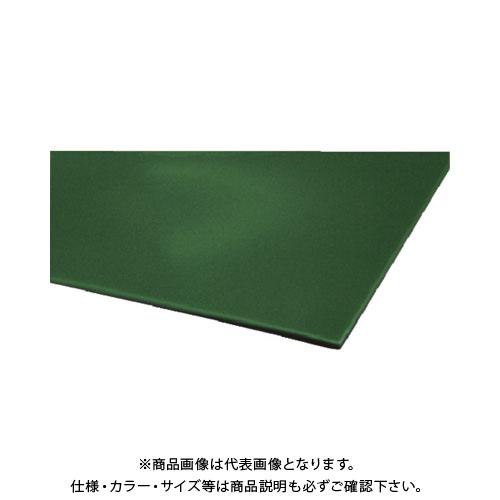 【運賃見積り】【直送品】MF エンビシート(グリーン)平ツヤ YS021