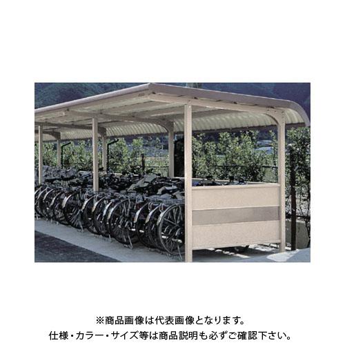 【運賃見積り】【直送品】 ヨドコウ ヨド自転車置場 YOKR-240-5 002 2連棟 YOKR-240-5-2X1