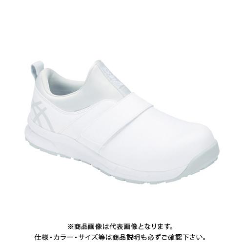 アシックス ウィンジョブCP303 ホワイト/グレイシャーグレー 24.0cm 1271A004.100-24.0