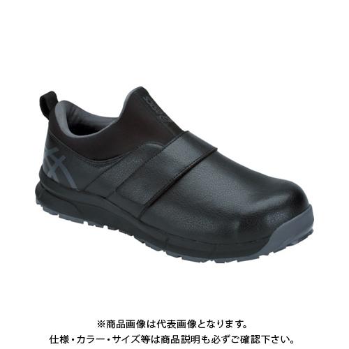 アシックス ウィンジョブCP303 ブラック/ダークグレー 24.0cm 1271A004.001-24.0