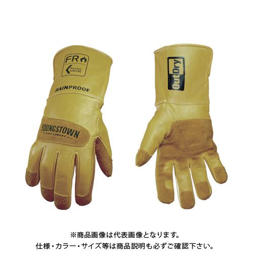YOUNGST 革手袋 FRレイングローブ アウトドライ 12-3495-60-L