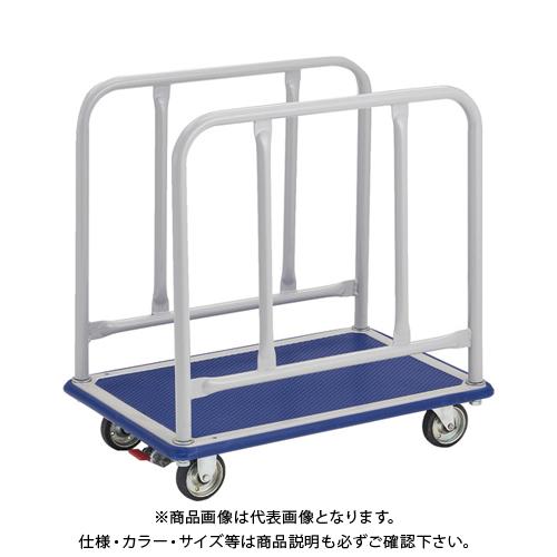 【運賃見積り】【直送品】TRUSCO ドンキーカート サイドハンドル 740X480 S付 110NS