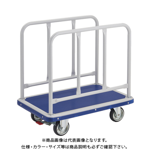 【運賃見積り】【直送品】TRUSCO ドンキーカート サイドハンドル 810X510 S付 210NS