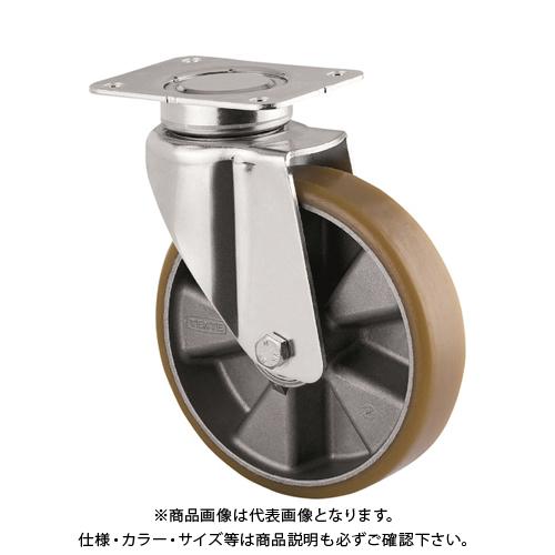 テンテキャスター 重荷重用高性能旋回キャスター(ウレタン車輪・メンテナンスフリー) 3640ITP200P63 CONVEX