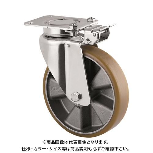 テンテキャスター 重荷重用高性能旋回キャスター(ウレタン車輪・メンテナンスフリー) 3641ITP200P63 CONVEX