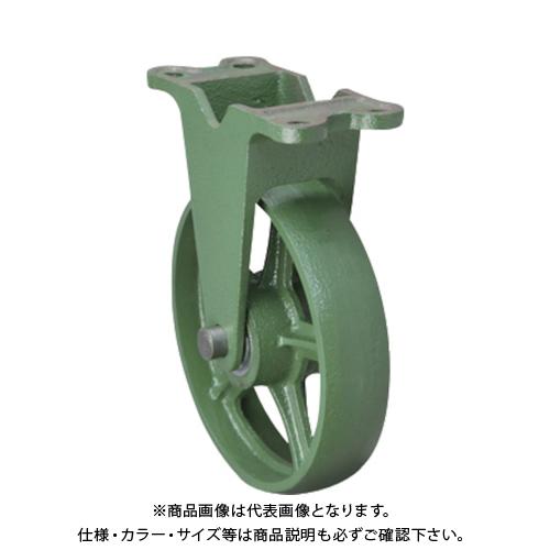 【運賃見積り】【直送品】東北車輛製造所 標準型固定金具付鉄車輪 300KFB