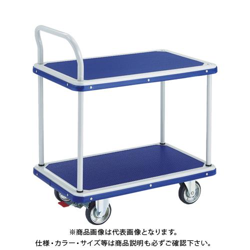 【運賃見積り】 【直送品】 TRUSCO ドンキーカート 2段式片袖タイプ810×510 S付 204NS